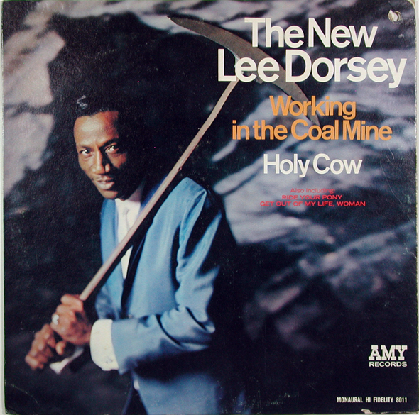 DORSEY LEE - Working in the Coal Mine Holy Cow - LP